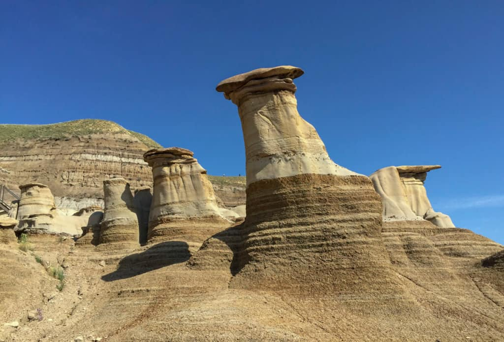 The canadian badlands are a perfect addition to an alberta roadtrip