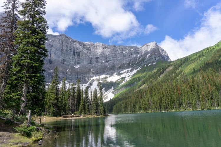 Kananaskis Country is a great stop near Banff on an alberta roadtrip