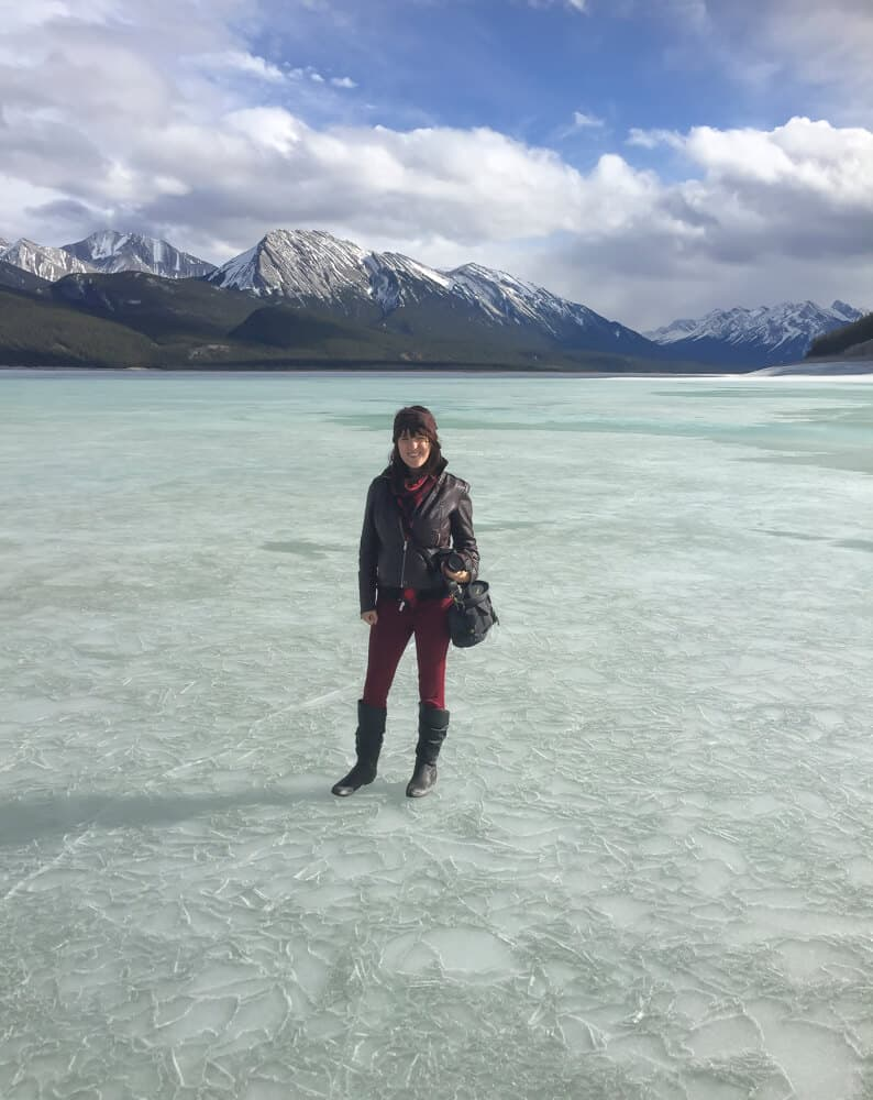 Abraham lake is one of the most beautiful places to explore in alberta