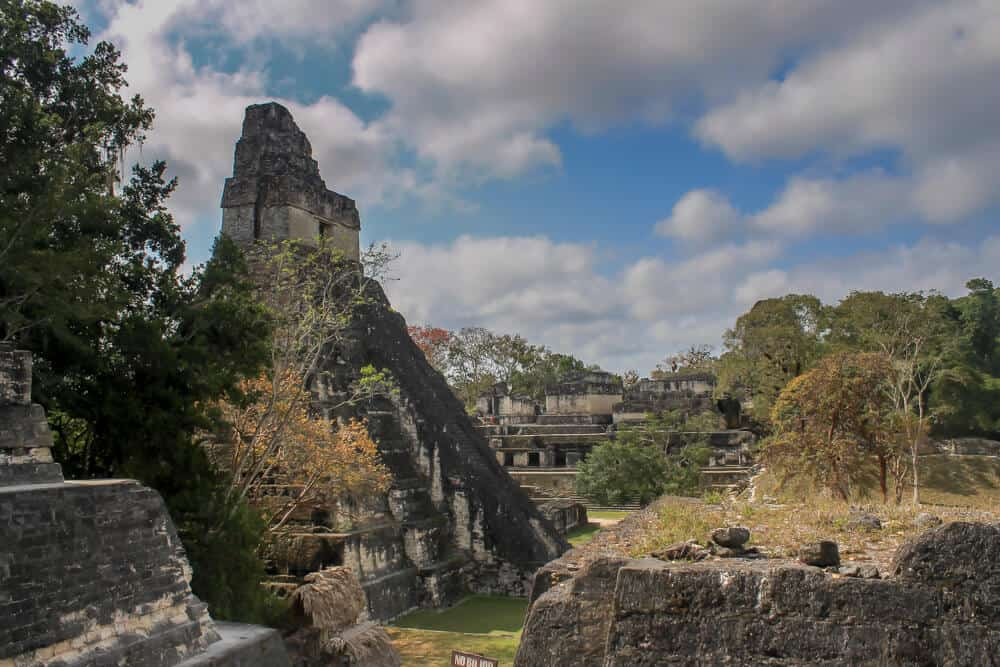 pyramid in Tikal