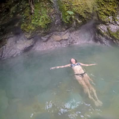 How to visit the Fuentes Georginas hot springs in Guatemala