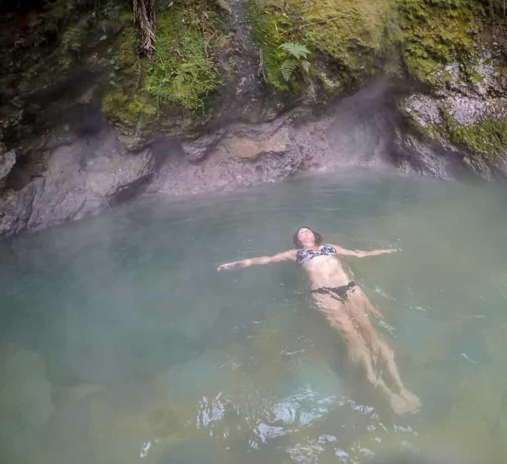 fuentes georginas hot springs
