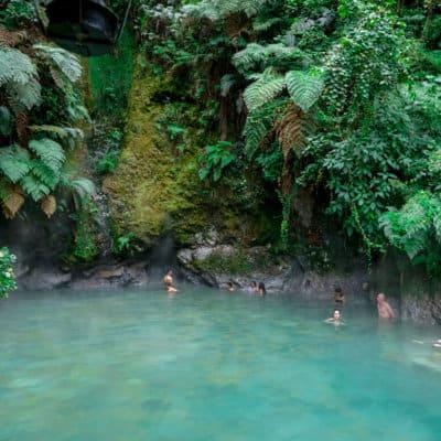 hot springs in xela