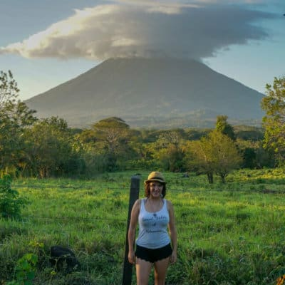 Exploring the island of Ometepe, Nicaragua