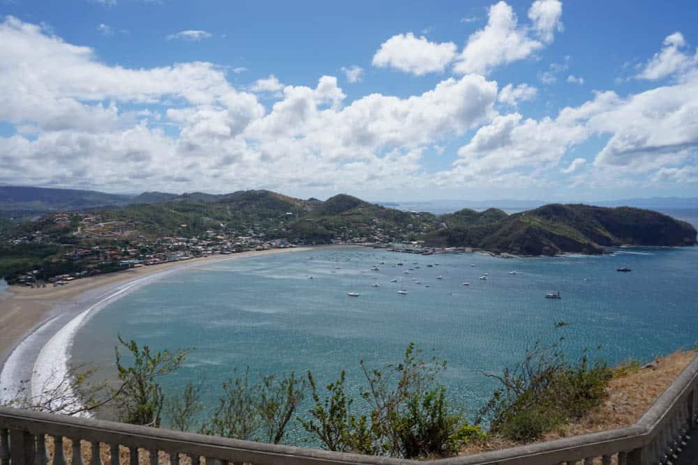 beach in San Juan Del Sur, Nicaragua central america