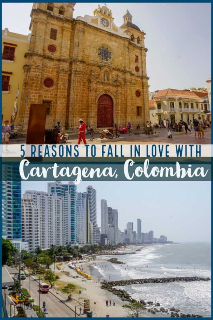 Cartagena Colombia is one of the most beautiful cities in South America. Discover why you will fall in love with this beautiful city and the best things to do on a visit there. #Cartagena #Colombia