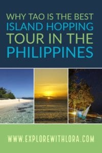 Heading to the Philippines? Take a TAO Philippines expedition! One of the best island hopping tours in the Philippines and the best thing to do in Palawan. Find out why in this post! #Phillipines #Palawan