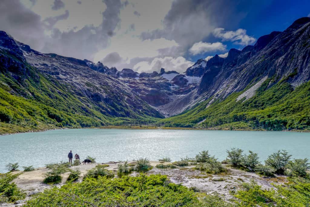 Laguna Esmeralda is one of the best day hikes in Ushuaia