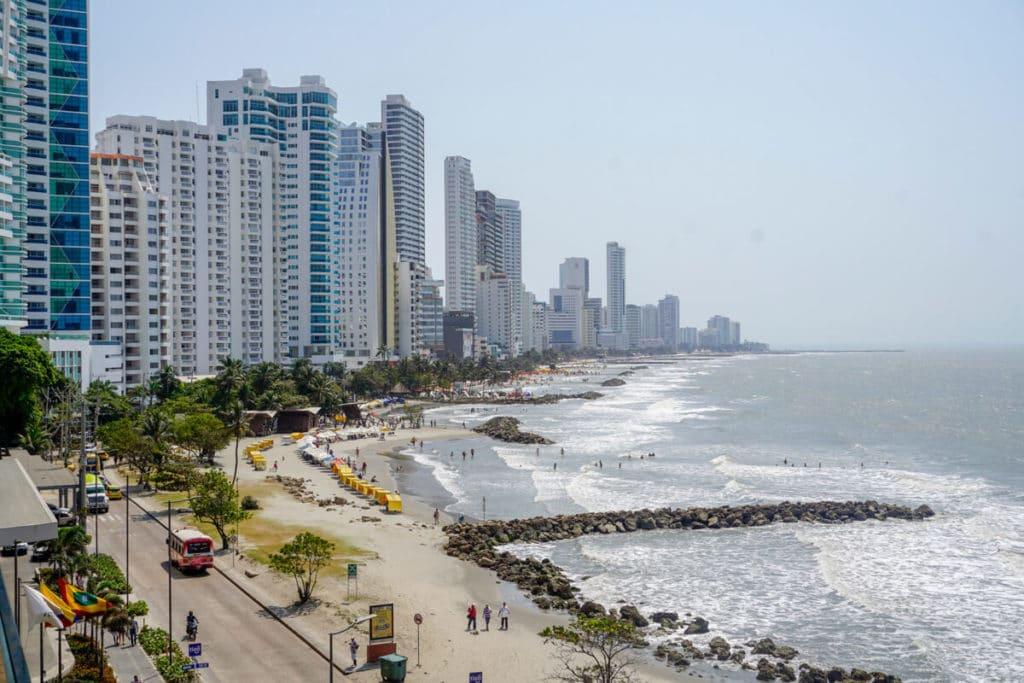 Bocagrand neighborhood in Cartagena, Colombia