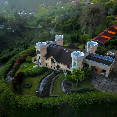 You can stay in this amazing castle in Boquete, Panama