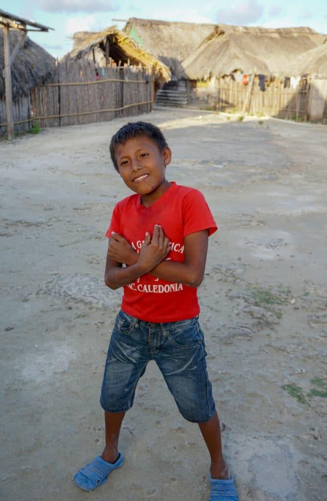 Kuna child