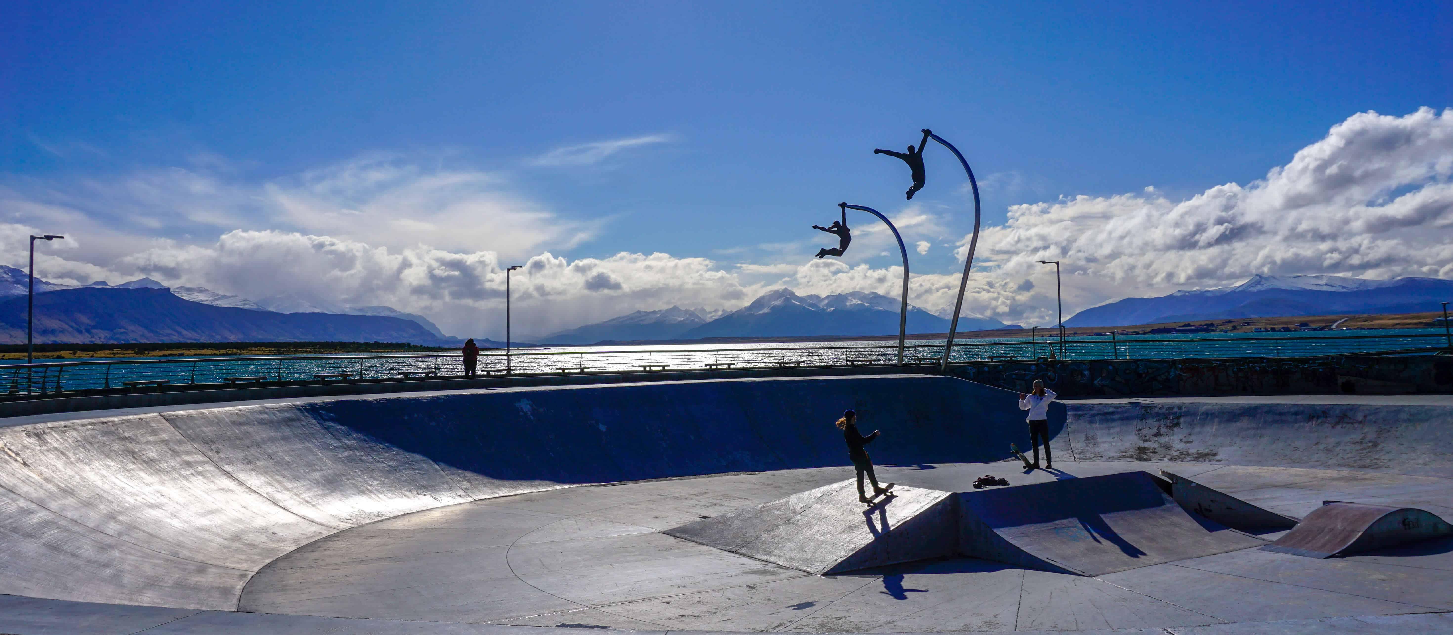 skatepark in Puerto Natales