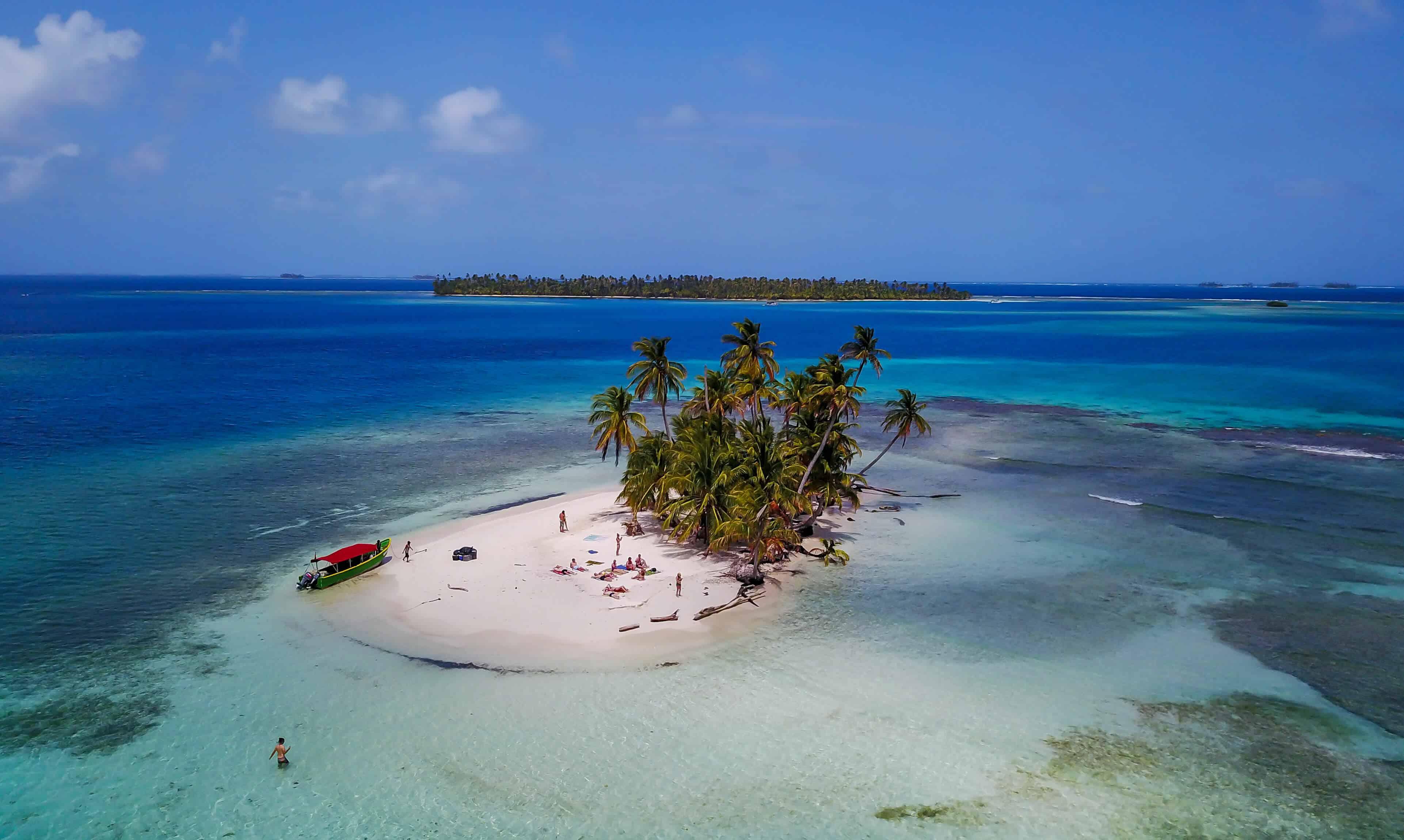 Visit the San Blas Islands to escape the cold