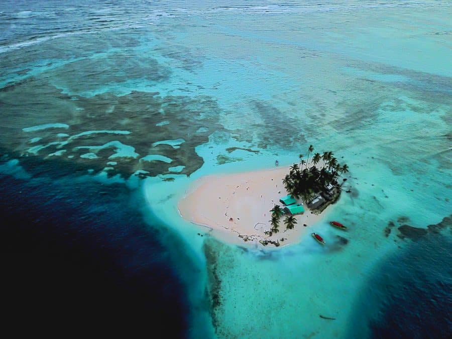 island with San Blas Adventures