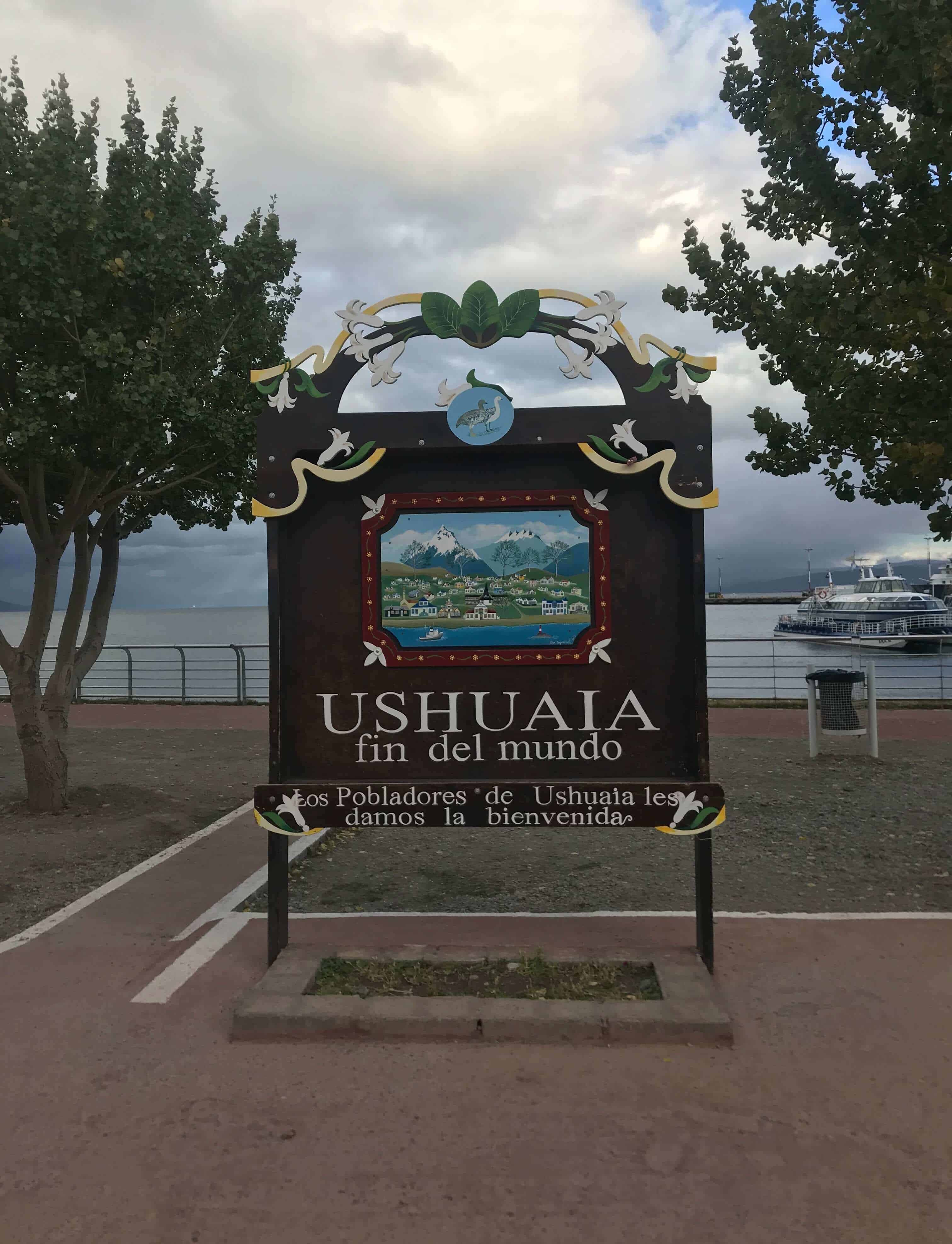 Visiting the end of the world in Ushuaia, Agentina
