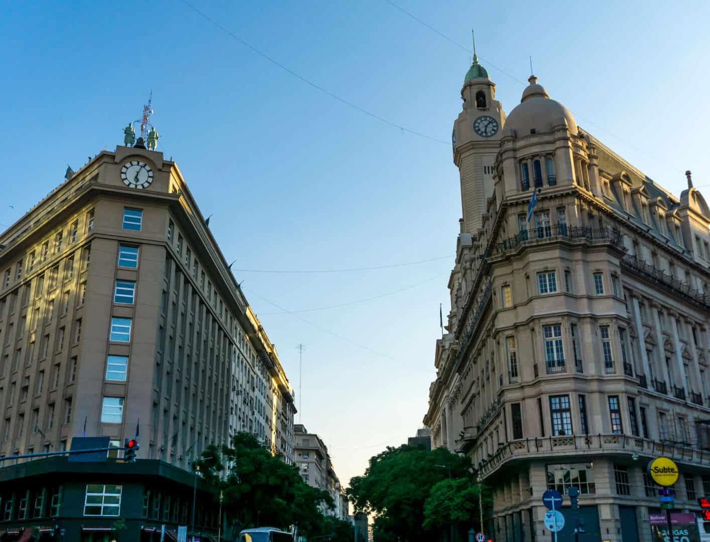 Legislative tower located in Monserrat, Buenos Aires