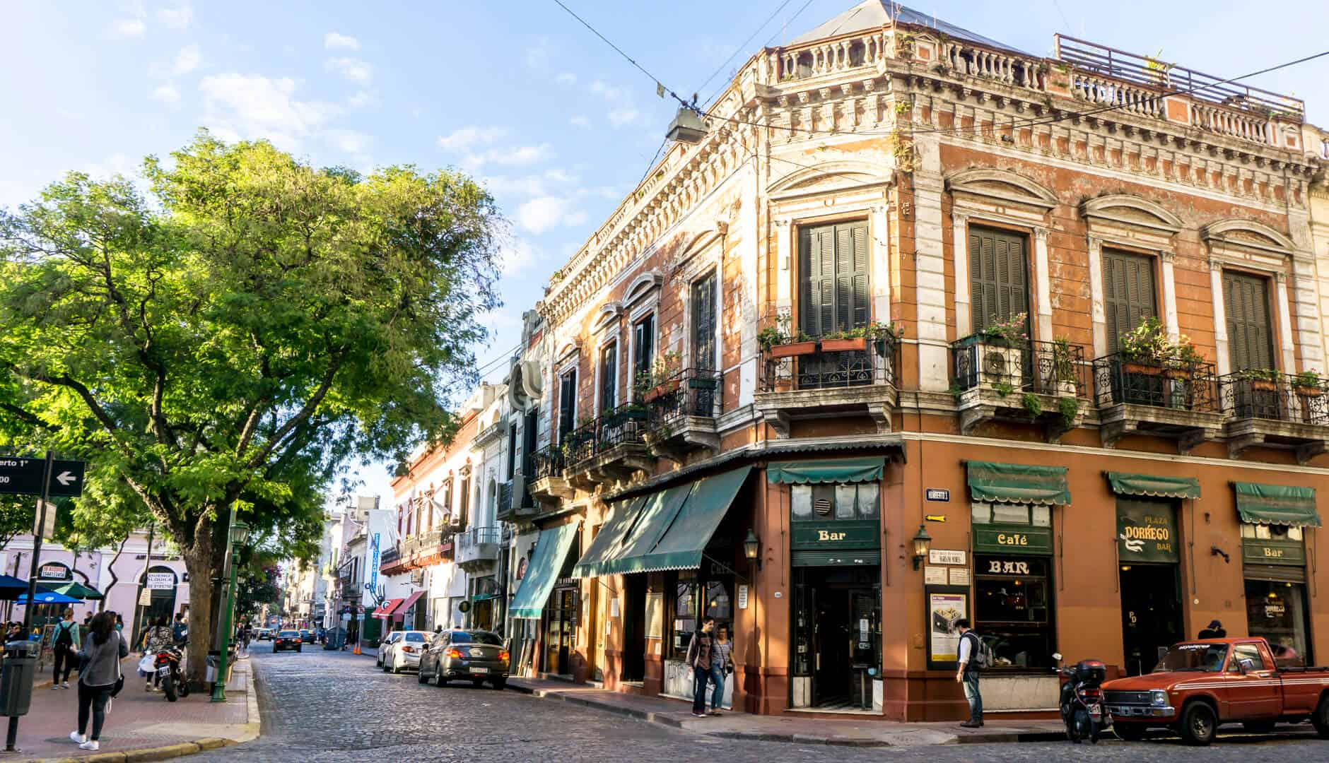 Streets of San Telmo, Buenos Aires