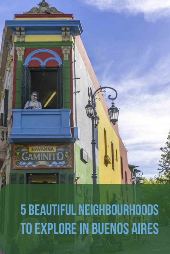 Buenos Aires is the capital city of Argentina, and is full of character. Discover the best neighbourhoods in Buenos Aires to eat, play, and stay during your visit, including recommendations on where to stay. Get inspired for your trip to Argentina! #BuenosAires #Argentina #SouthAmerica