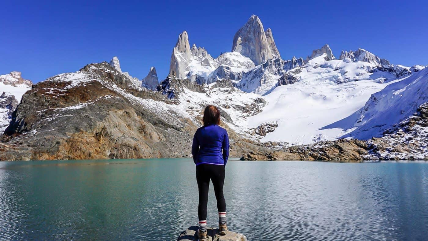 Summit of Laguna de los Tres
