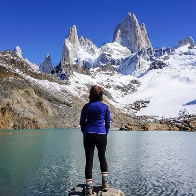 Summit of Laguna de los Tres
