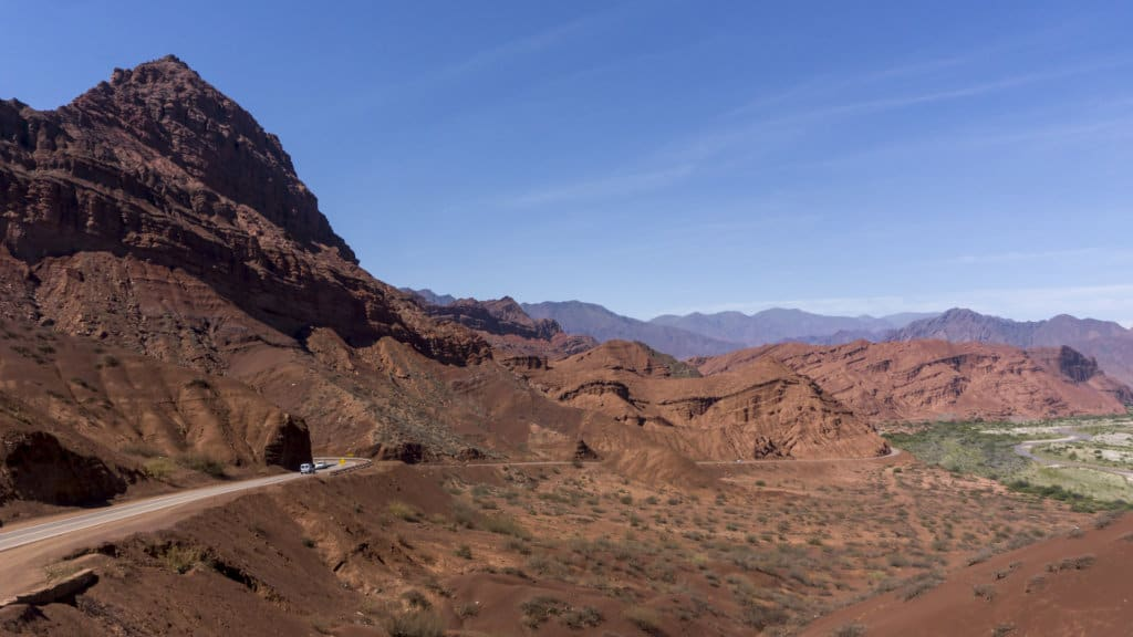 Driving through Salta province