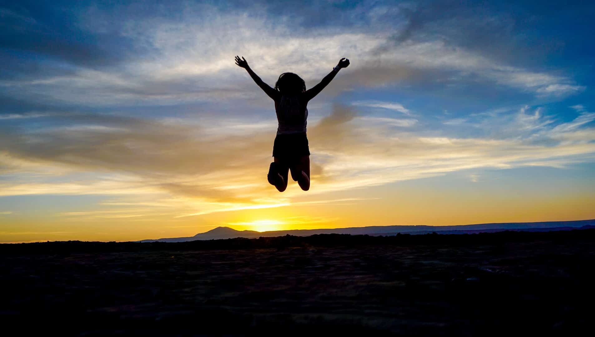 Jumping over the sun in San Pedro de Atacama