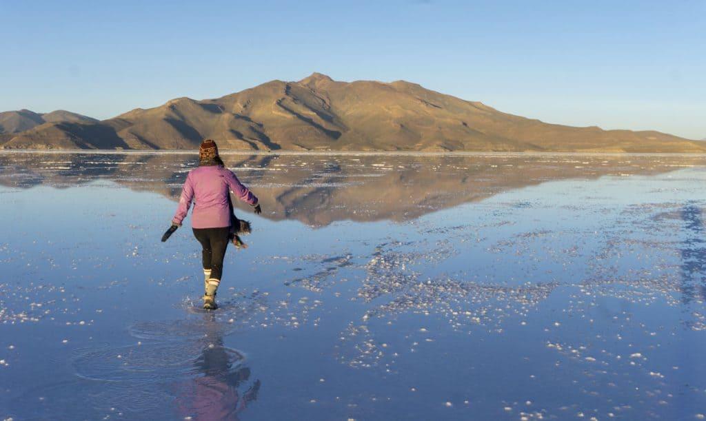 Bolivia Salt Flats in April