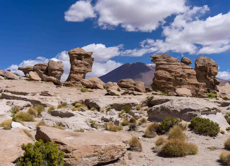 Rock landscapes in Bolivia