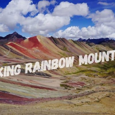 Hiking Rainbow mountain