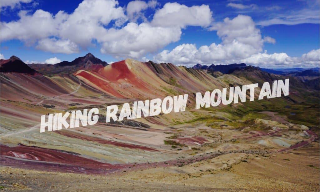 hike rainbow mountain