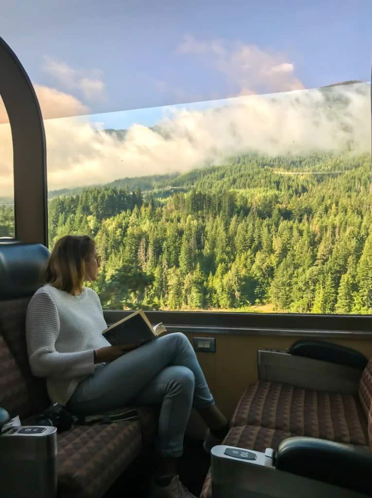 train views of BC