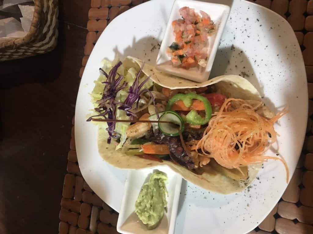 burrito in the galapagos islands