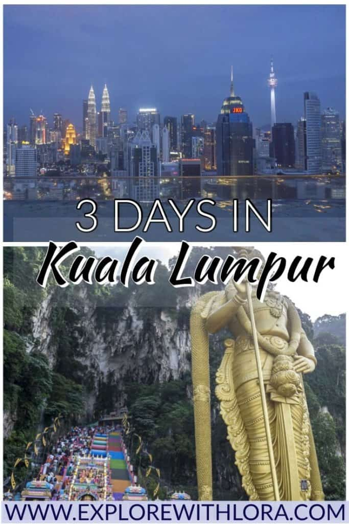 KL is one of the most vibrant cities in Asia. Even with just a couple of days, you can see some of the best sights in Kuala Lumpur! This post goes over the best things to do in KL in 1-3 days. #KualaLumpur #Malaysia