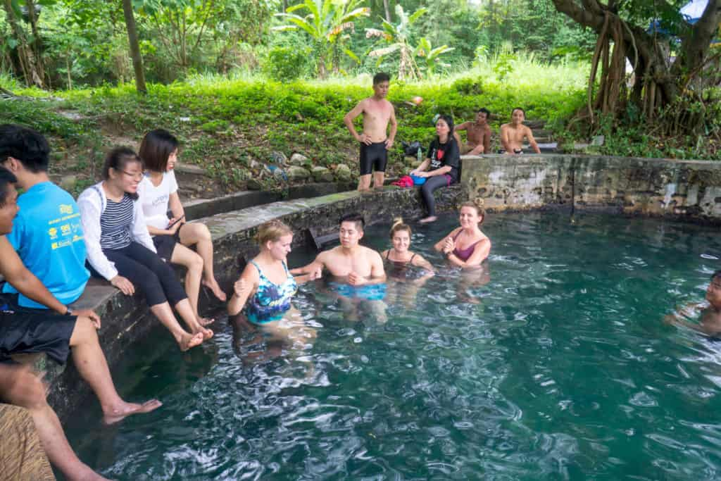Visiting hot springs is a great thing to do in KL