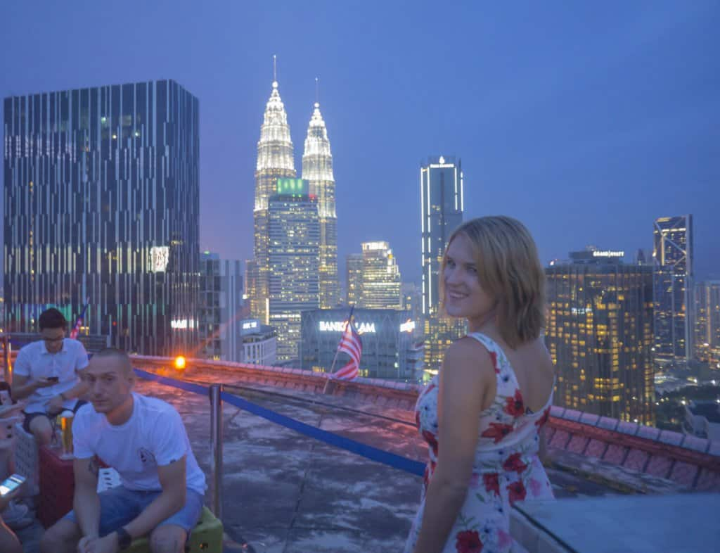 visting heli lounge bar is one of places of interest in Kuala Lumpur
