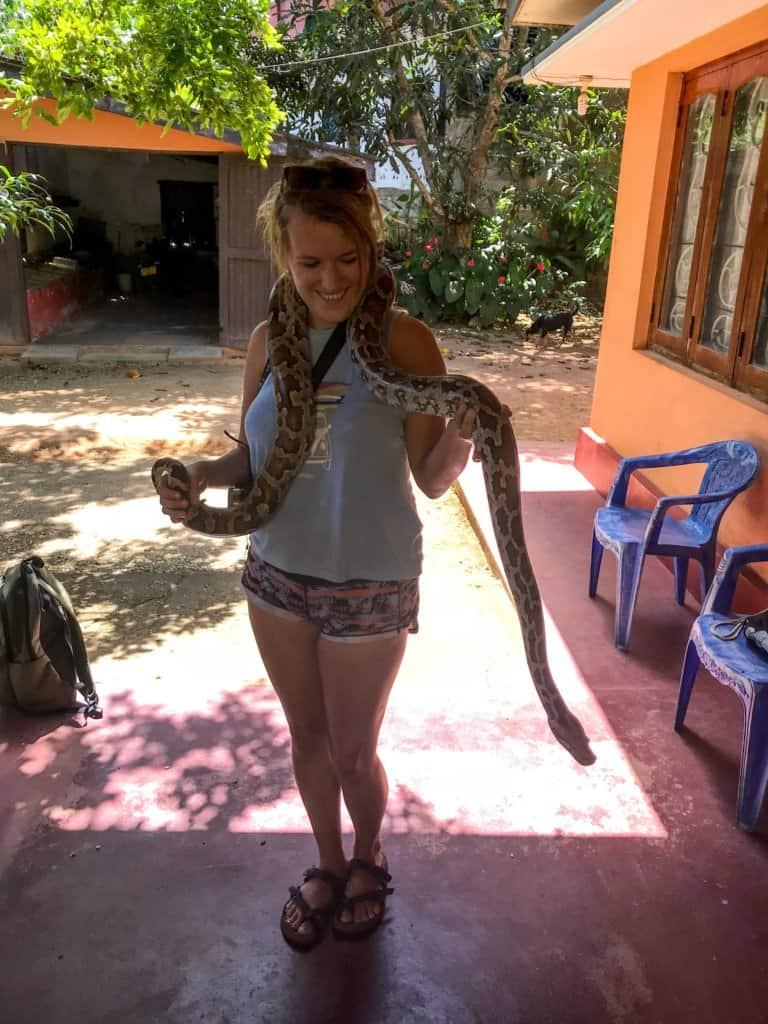 snake farm safari in Sri Lanka