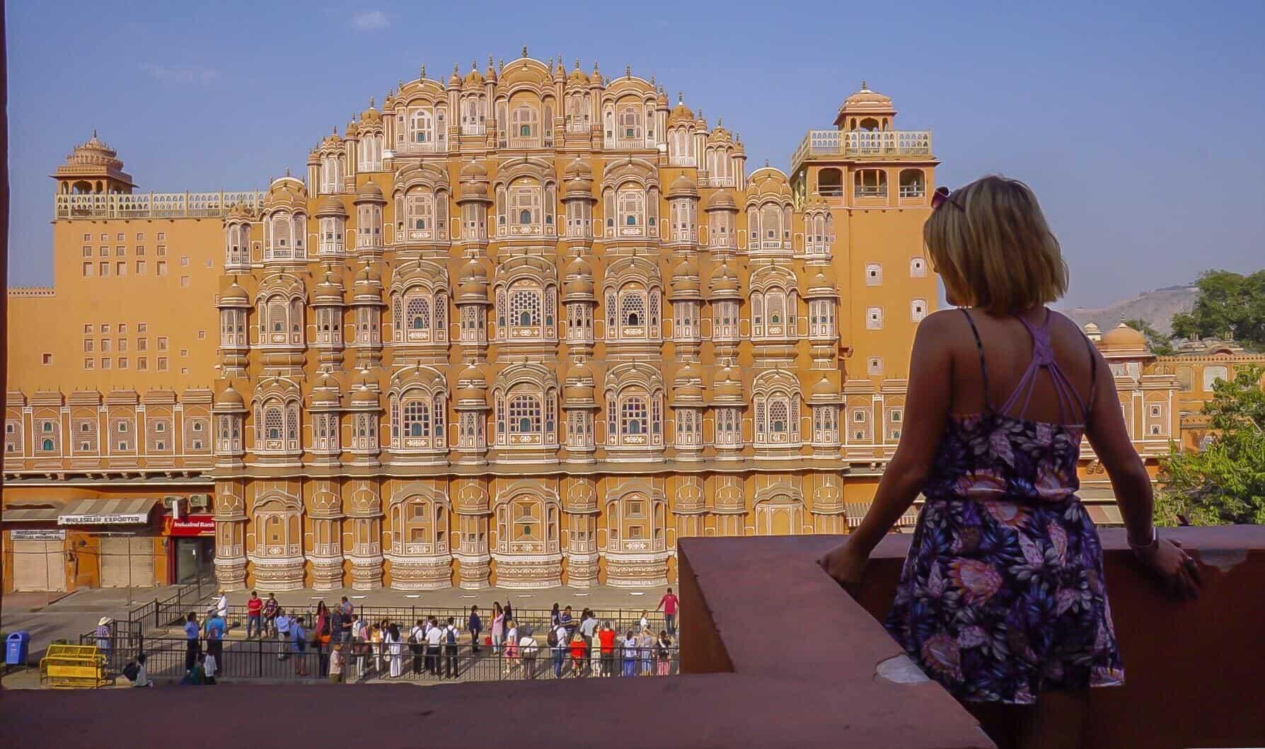 architecture in jaipur, india