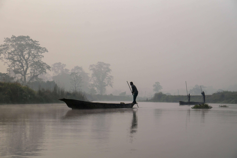Rapti River in Chitwan National Park