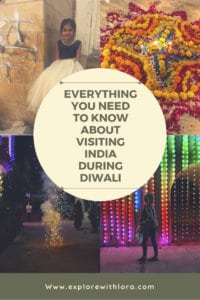 Diwali is one of the most important celebrations in India. Visiting India during Diwali is a unique way to experience the country. Learn everything you need to know about visiting India during Diwali in this post. #India #Diwali