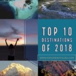 My Top 10 Destinations of 2018