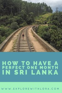 This post details a perfect one-month itinerary in Sri Lanka. It goes over the best things to in Sri Lanka, where to go in Sri Lanka, as well as safety and budget tips for travelling Sri Lanka. Get inspired to visit Sri Lanka in this post! #SriLanka #Travel