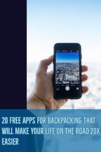 Smartphones have revolutionized the way we travel. There's so apps out there that can help you with your trip from planning inspiration to booking last minute rooms. Discover 20 FREE apps for travel that will make your life on the road 20x easier. #Travel #Apps