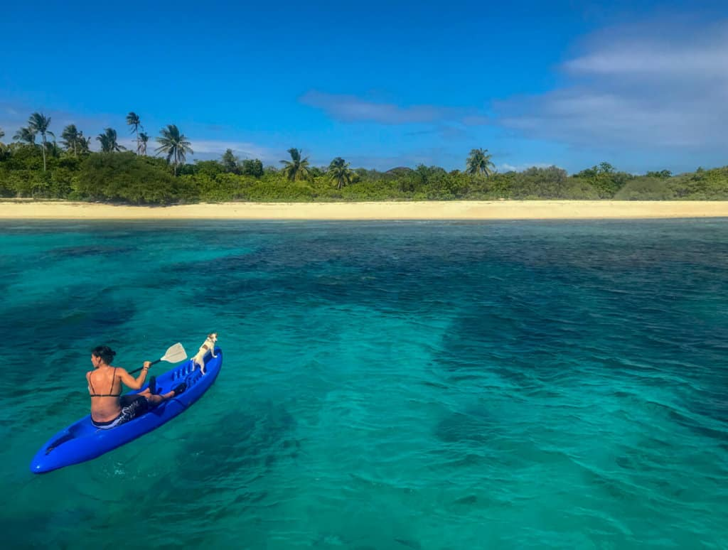 Kayaking in the Philippines on TAO, the best island hopping experience in the philippines