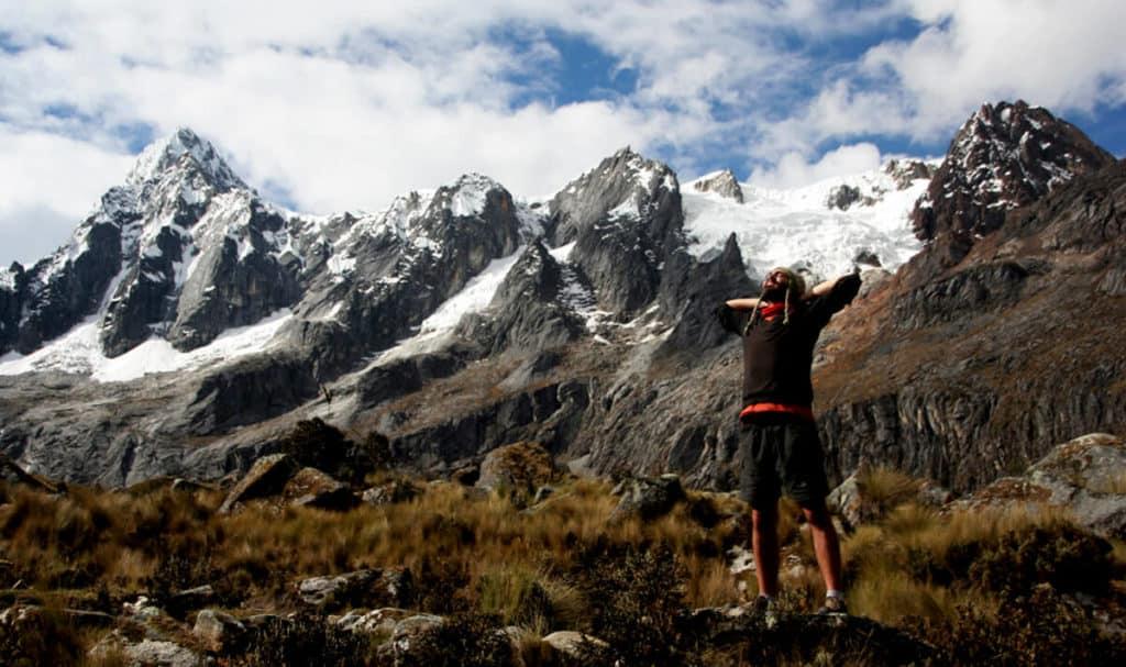 trekking near cusco the santa cruz trek