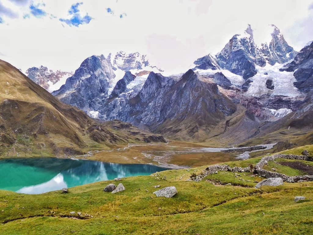 Cordillera Huayhuash Circuit trekking cusco