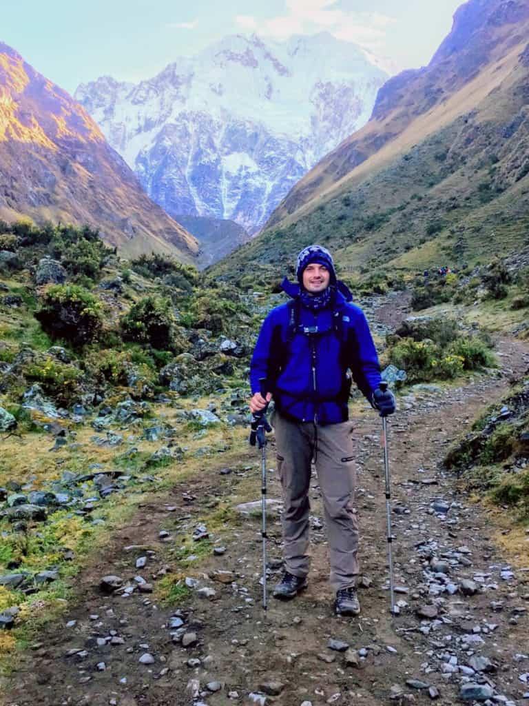the Salkantay trek in peru