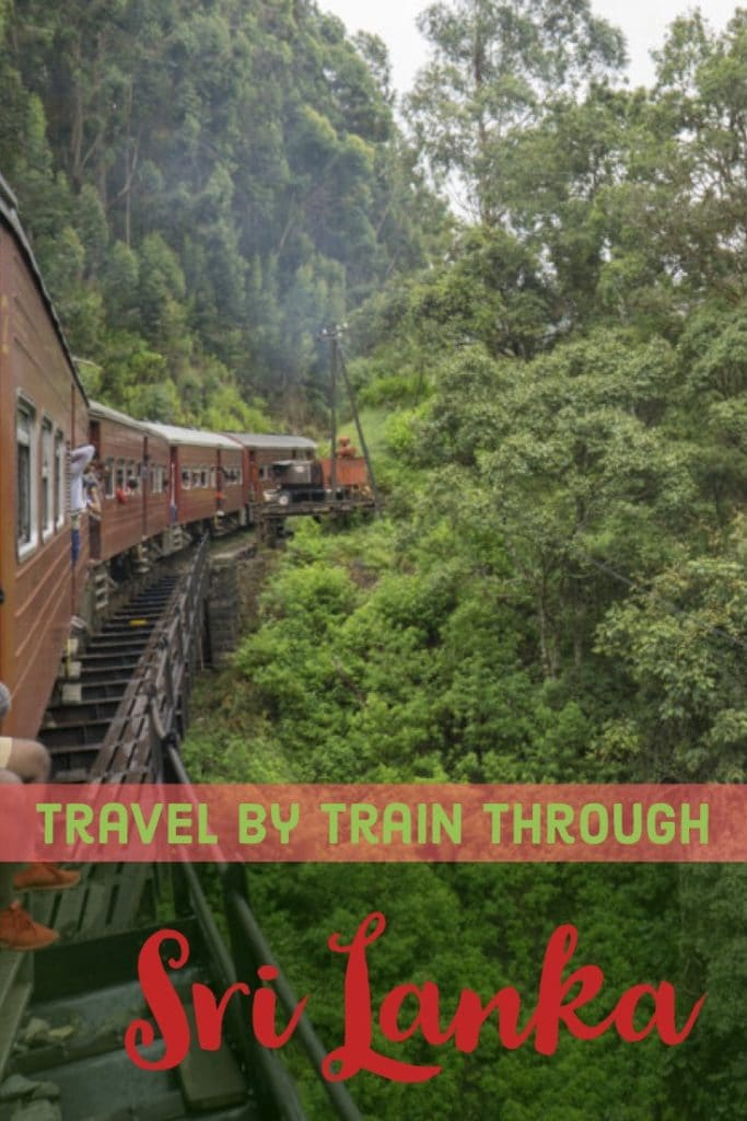 Traveling to Sri Lanka? Taking the train though Sri Lanka is one of the most beautiful and affordable ways to see and get around the country. Find out everything you need to know about taking the train through Sri Lanka in this post. #SriLanka #TrainTravel #Asia