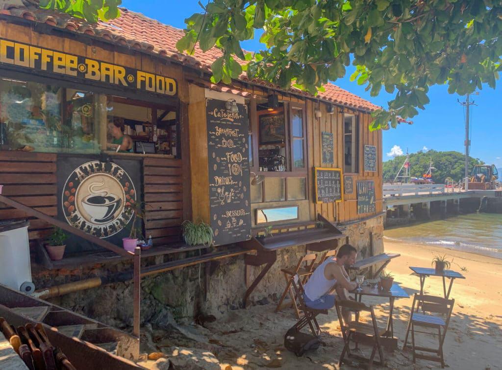 Atelie Cafeteria in Isla grande brasil