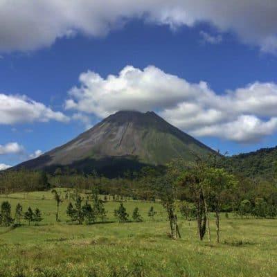 hiking arenal volcano in la fortuna