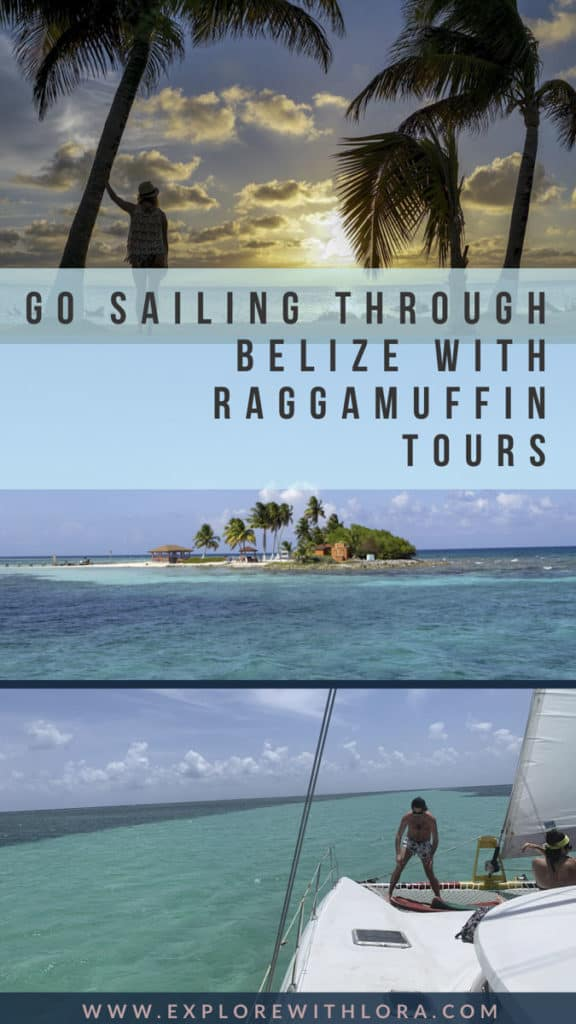 With over 265 islands to explore, sailing through Belize is one of the best ways to see the country! Find out in this post how you can take an epic sailing tour through Belize with Raggamuffin tours. #Belize #CentralAmerica #Sailing #CayeCaulker #RaggamuffinTours